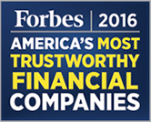 Forbes 2016 America's Most Trustworthy Financial Companies